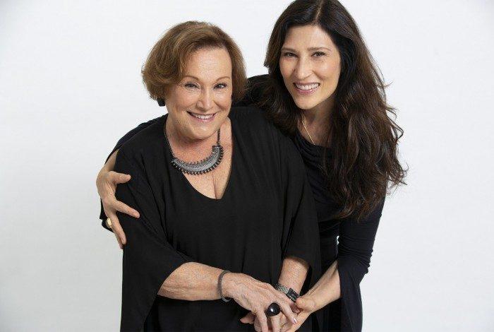 As atrizes Nicette Bruno e Beth Goulart