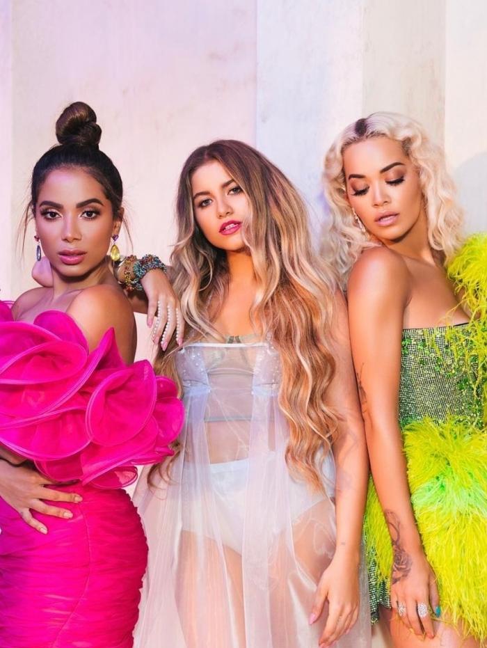 Anitta, Sofia Reyes e Rita Ora mesclam as culturas em novo clipe