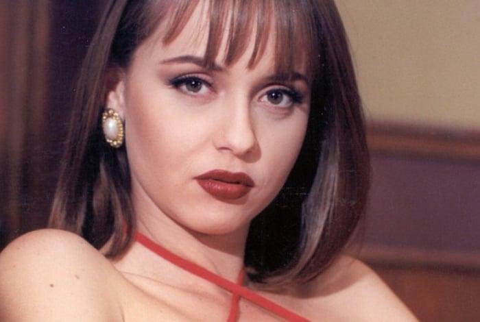 Gaby Spanic ficou famosa nos papéis de Paola e Paulina na novela mexicana A Usurpadora
