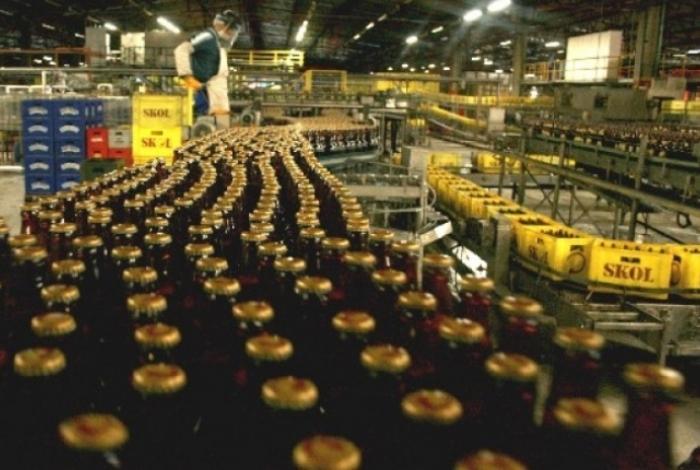 Produção de cerveja