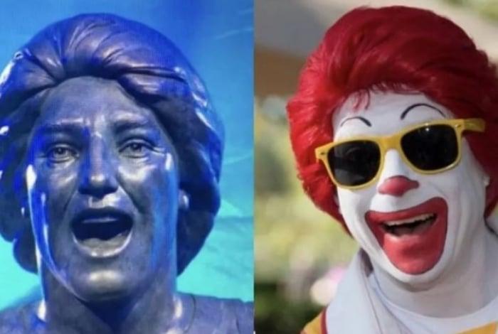 A galera não perdoou a estátua de Renato Gaúcho...