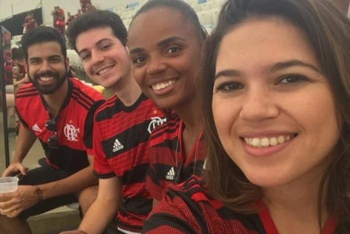 Sassá com a camisa do Flamengo