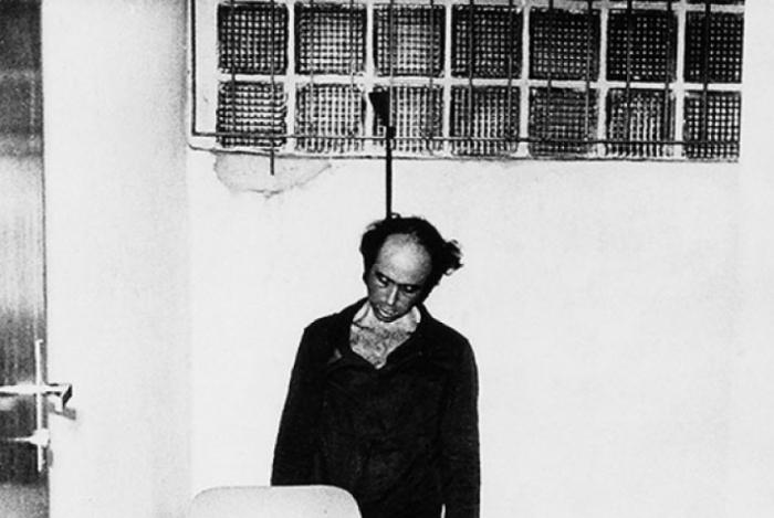 Jornalista Vladimir Herzog, torturado e morto nas dependências do DOI-CODI, em São Paulo, durante a ditadura militar