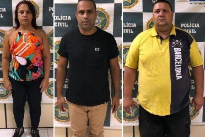 Trio é investigado por crimes de homicídio qualificado e constituição de milícia privada
