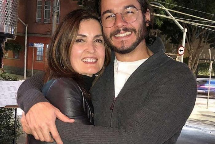 Fátima Bernardes e o namorado, Túlio Gadelha