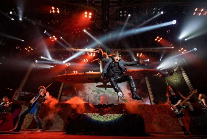 Iron Maiden enecrra a noite do metal no Palco Mundo do Rock in Rio 2019