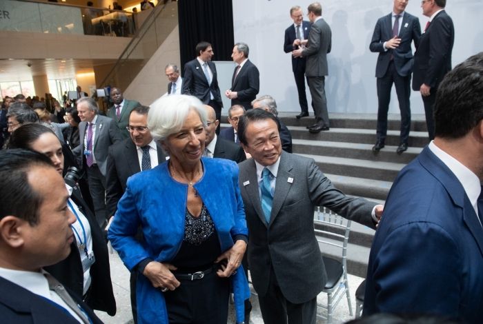 Christine Lagarde é diretora-gerente do FMI