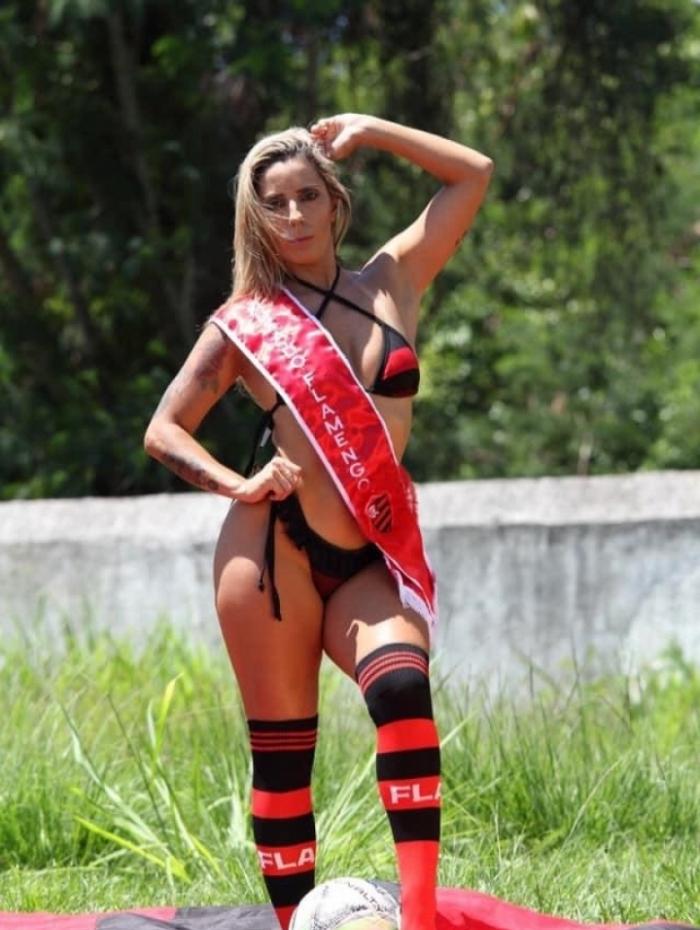 Bianca Matos é torcedora do Flamengo - A Gata da Hora