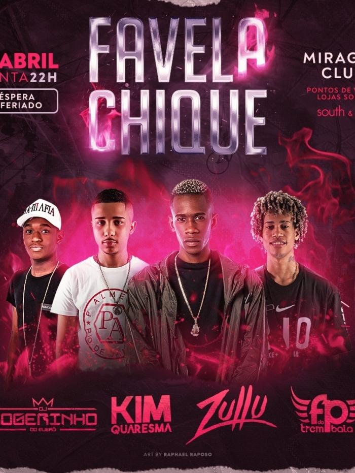 Nova edição do 'Favela Chique!' promete agitar a baixada