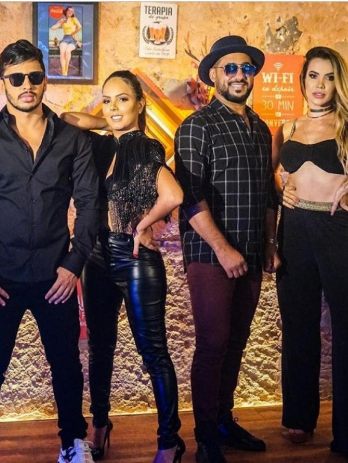 Raí Soares posa com Lucas Guimarães, Leydi Paranhos e Lusiane Lira