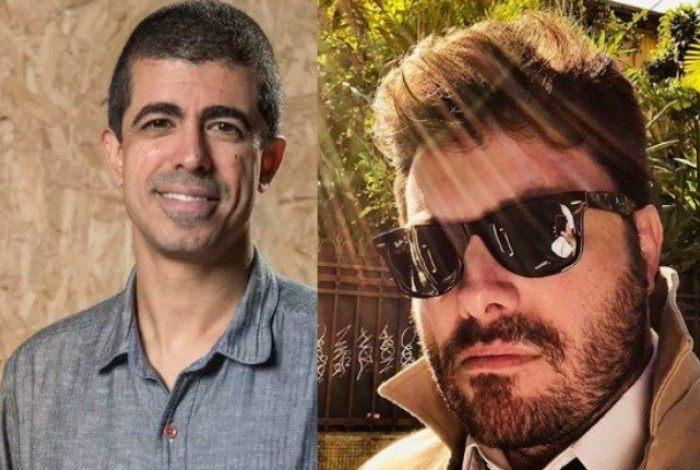 Danilo Gentili chama Marcius Melhem de 'covarde'