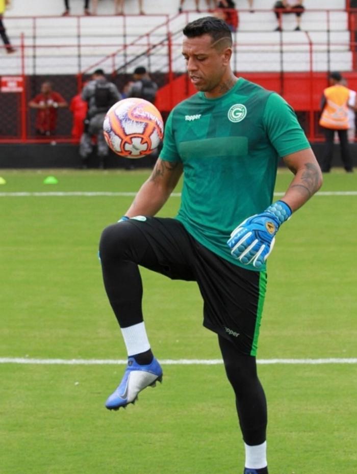 O goleiro Sidão estava no Goiás e agora reforça o Vasco