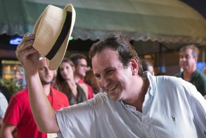 O ex-prefeito Eduardo Paes