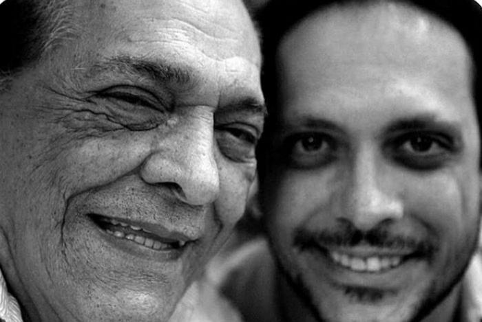 Lúcio Mauro e o filho