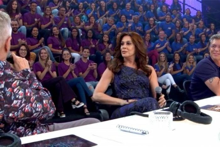 Miguel Falabella, Claudia Raia e Boninho são os jurados do 'Show dos Famosos'