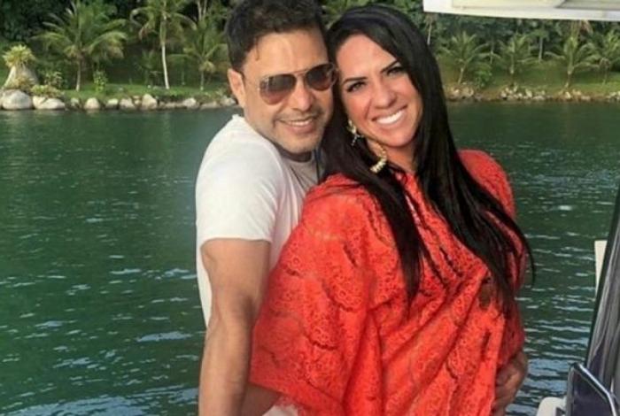 Zezé Di Camargo e Graciele Lacerda vão ter um bebê