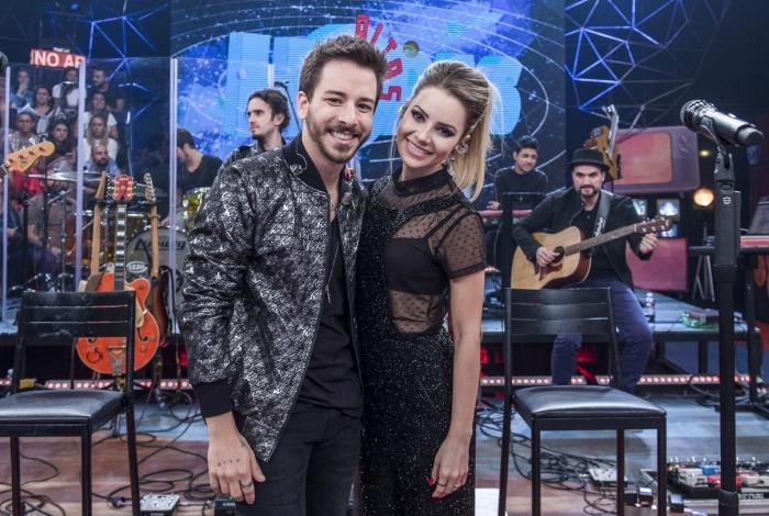 Sandy e Júnior voltam às telinhas e faz show exclusivo no 'Altas Horas'