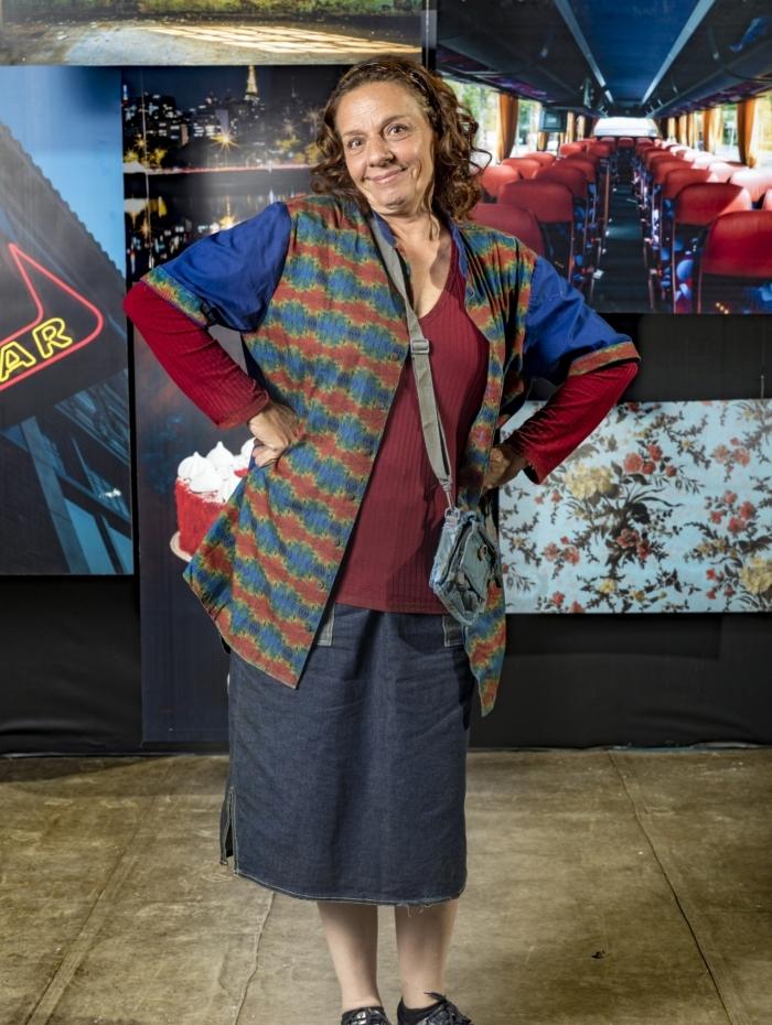 Dorotéia (Rosi Campos), em 'A Dona do Pedaço'
