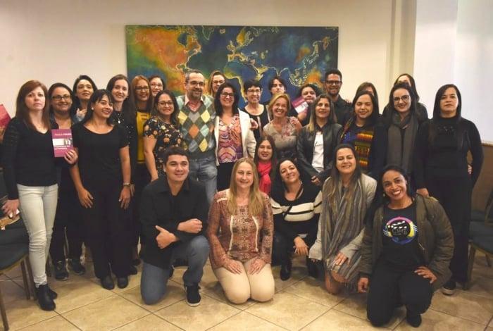 Manifestação aconteceu durante encontro com vencedores do Prêmio Professores do Brasil
