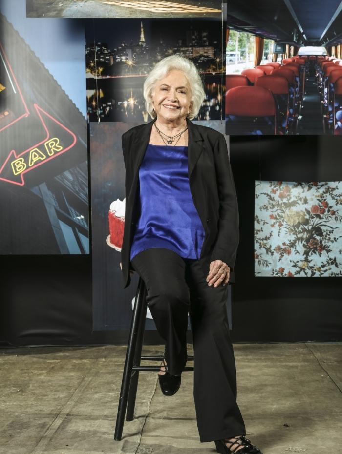 Gladys (Nathalia Timberg), em 'A Dona do Pedaço'