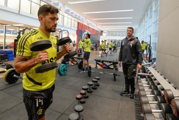Arrascaeta é o ponto de equilíbrio do Flamengo na temporada