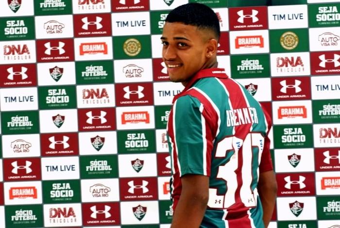 Brenner foi apresentado pelo Fluminense