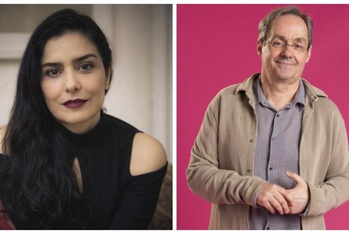 Letícia Sabatella e Daniel Dantas estão namorando