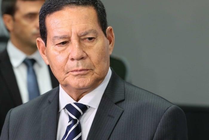 Vice-presidente Hamilton Mourão: 'O ministro Moro é um cara da mais ilibada confiança do presidente'