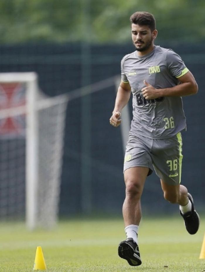 Ricardo Graça se firmou na zaga do Vasco