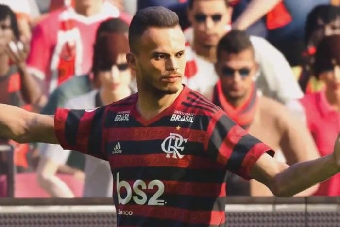 Flamengo surge em PES 2020 com gráficos realistas