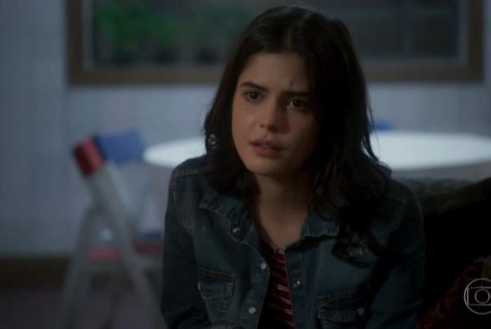 Laila (Julia Dalavia), em 'Órfãos da Terra'