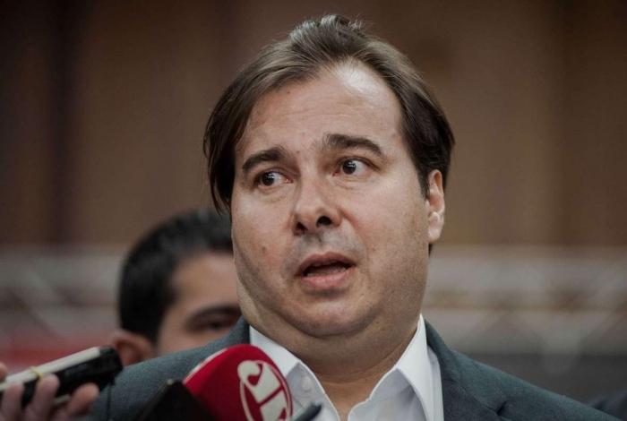 Rodrigo Maia, presidente da Câmara, criou grupo de trabalho
