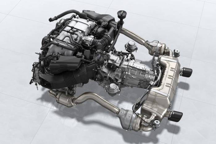 Propulsor 4.0 seis cilindros aspirado da nova linha é uma versão melhorada do motor instalado em versões do 911