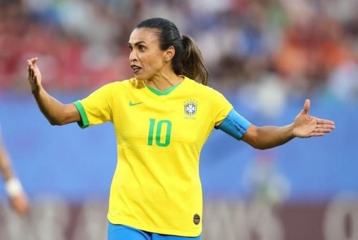 Marta é ícone do futebol feminino