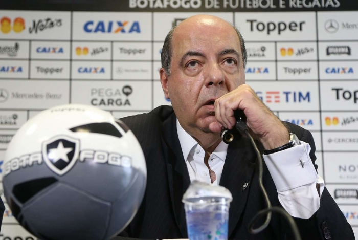 Presidente do Botafogo, Mufarrej