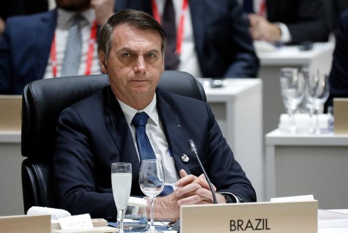 Bolsonaro foi ao Japão para encontro do G20