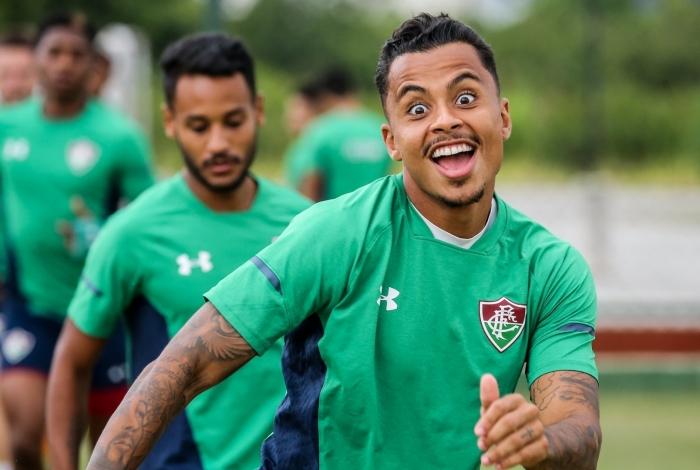 Allan ganhou uma chance entre os titulares do Fluminense