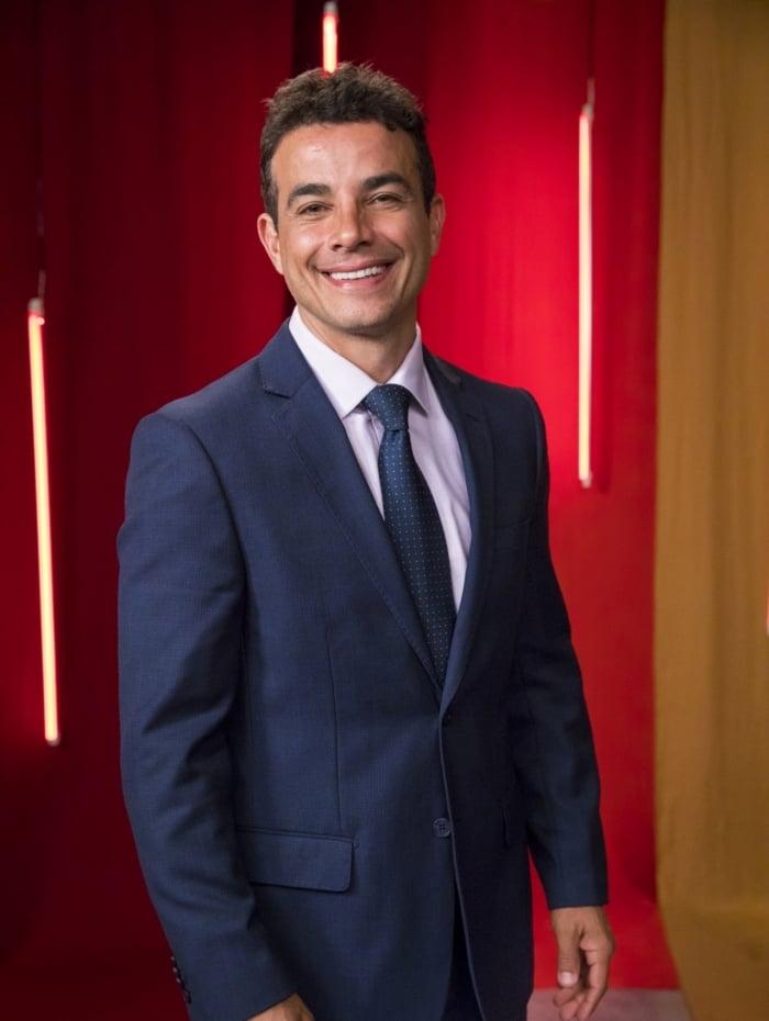 Márcio (Anderson Di Rizzi), em 'A Dona do Pedaço'