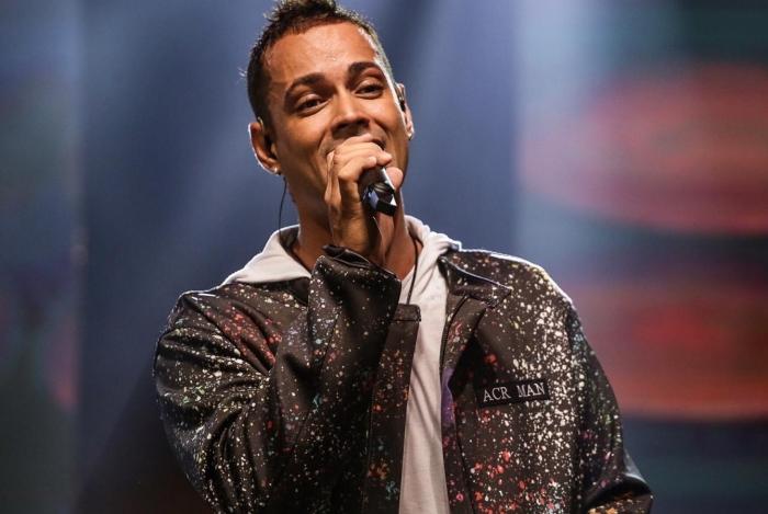 Juninho, vocalista do Imaginasamba