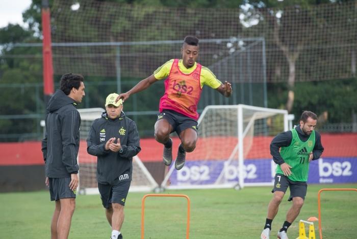 Bruno Henrique terá nova função, formando dupla com Gabigol