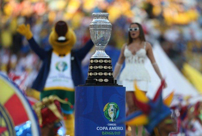 O Brasil se sagrou campeão da última edição da Copa América, em 2019, ao vencer o Peru no Maracanã