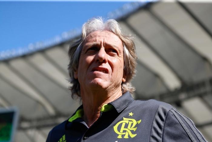 Jorge Jesus terá problema de última hora para escalar o Flamengo