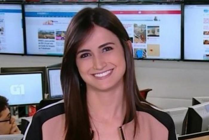Mari Palma ficou conhecida quando apresentava o boletim de notícias 'G1 em 1 minuto'