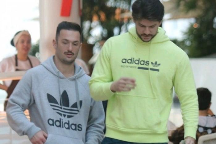 Diego Hypólito e Marcus Duarte