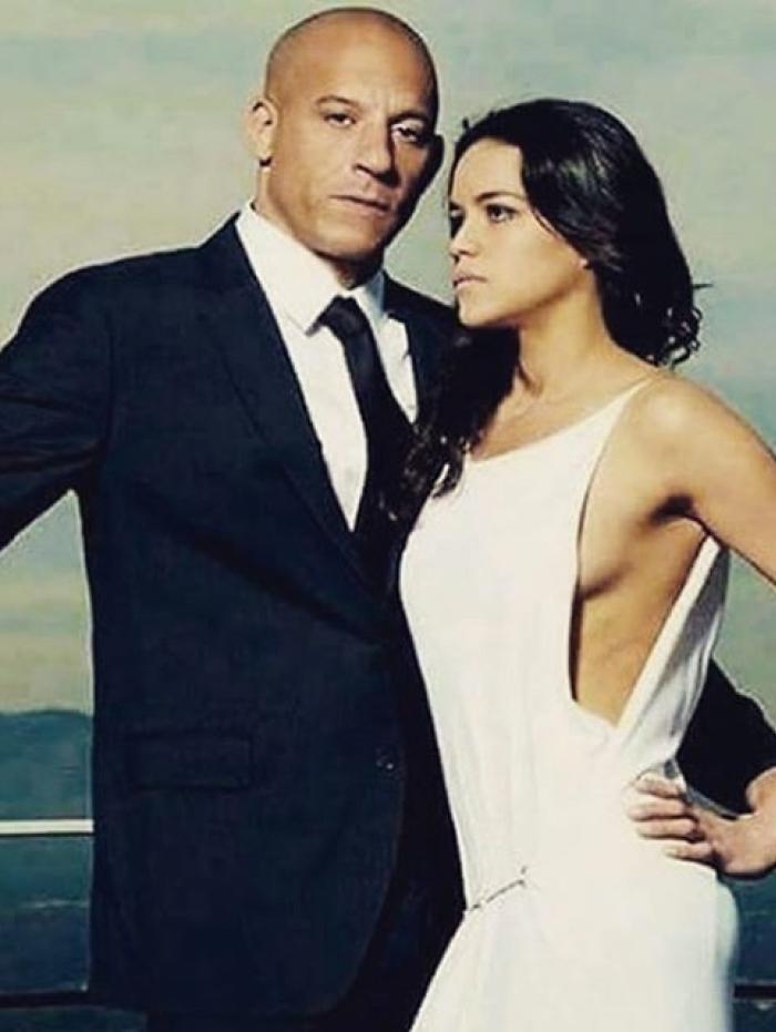 Vin Diesel e Michele Rodriguez
