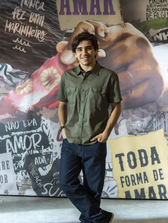 Tadeu (João Fernandes), em 'Malhação — Toda forma de amar'