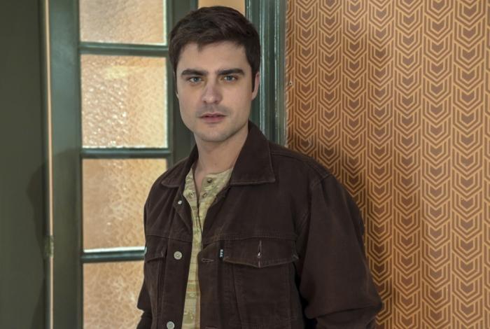 Leandro (Guilherme Leicam), em 'A Dona do Pedaço'