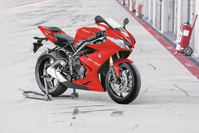 Esportiva tem visual inspirado em modelo usado na segunda divisão da MotoGP