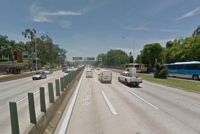 Trecho Niterói-Manilha da rodovia federal BR-101
