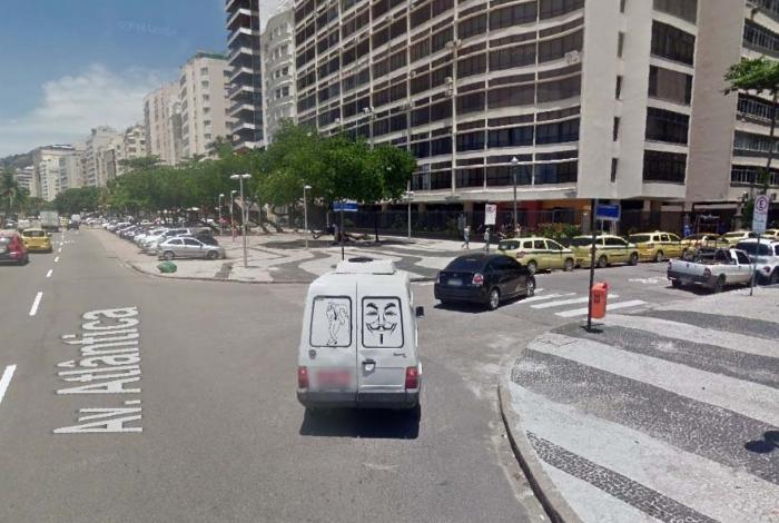 Caso aconteceu na esquina da Avenida Atlântica com a Rua Paula Freitas